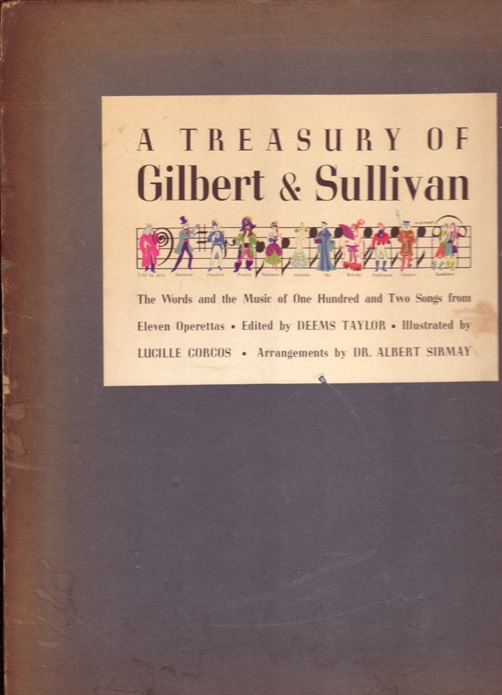 Image for Treasury of Gilbert & Sullivan