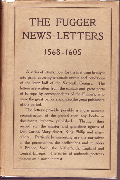 Image for Fugger News-Letters