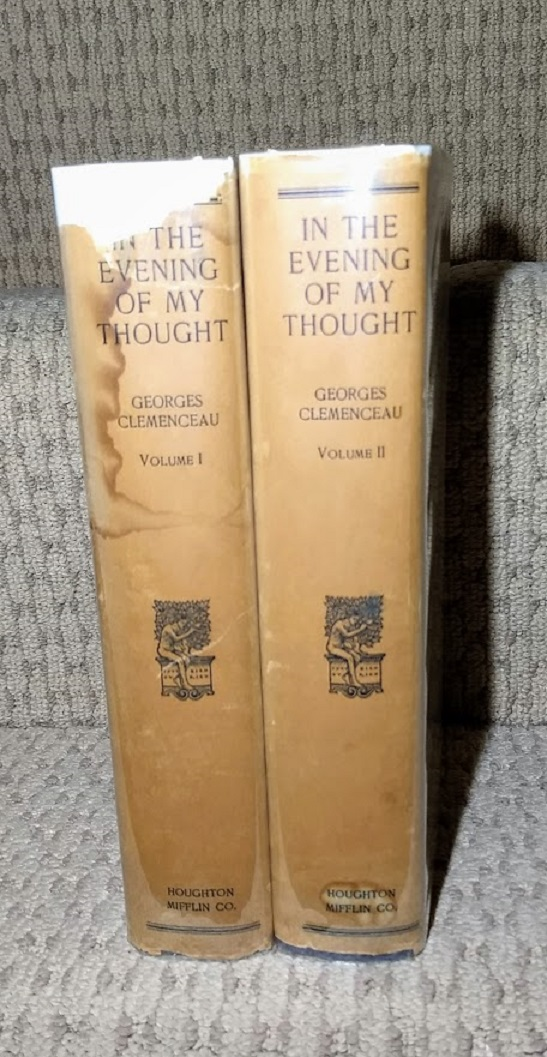 Image for In the Evening of My Thought  2 Volumes