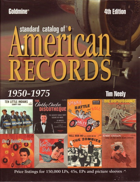 Image for Goldmine Standard Catalog of American Records  1950-1975  4th Edition
