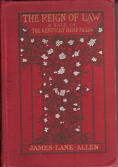 Image for Reign of Law; a Tale of the Kentucky Hemp Fields