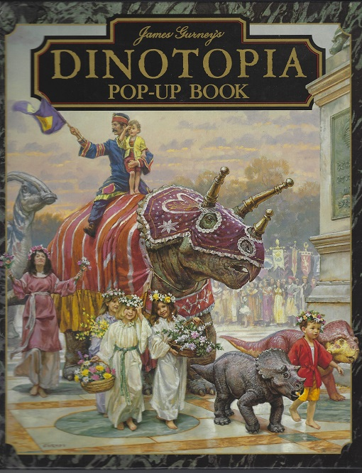 Image for James Gurney's Dinotopia Pop-Up Book: Pop-Up Book