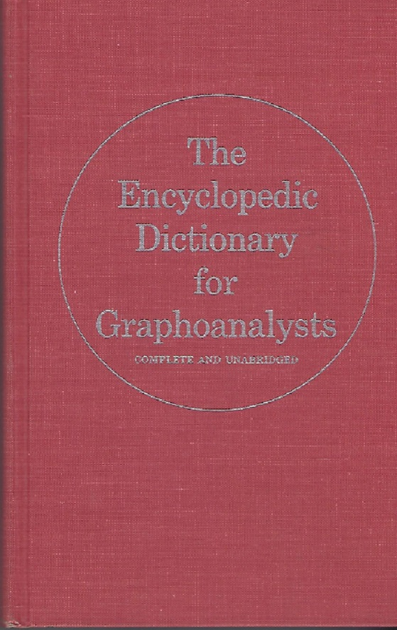 Image for Encyclopedic Dictionary for Graphoanalysts