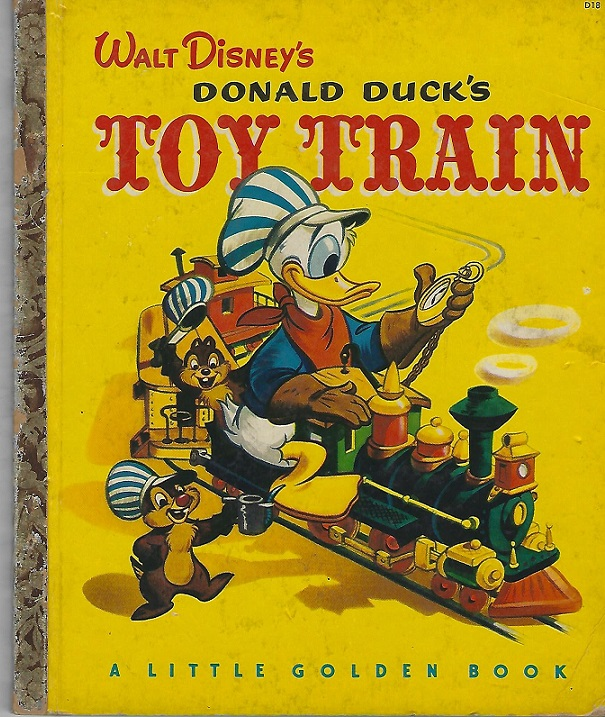 Image for Donald Duck's Toy Train