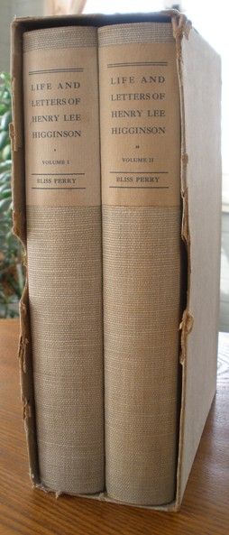 Image for Life and Letters of Henry Lee Higginson, 2 Volumes