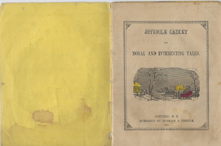 Image for Juvenile Casket of Moral and Interesting Tales