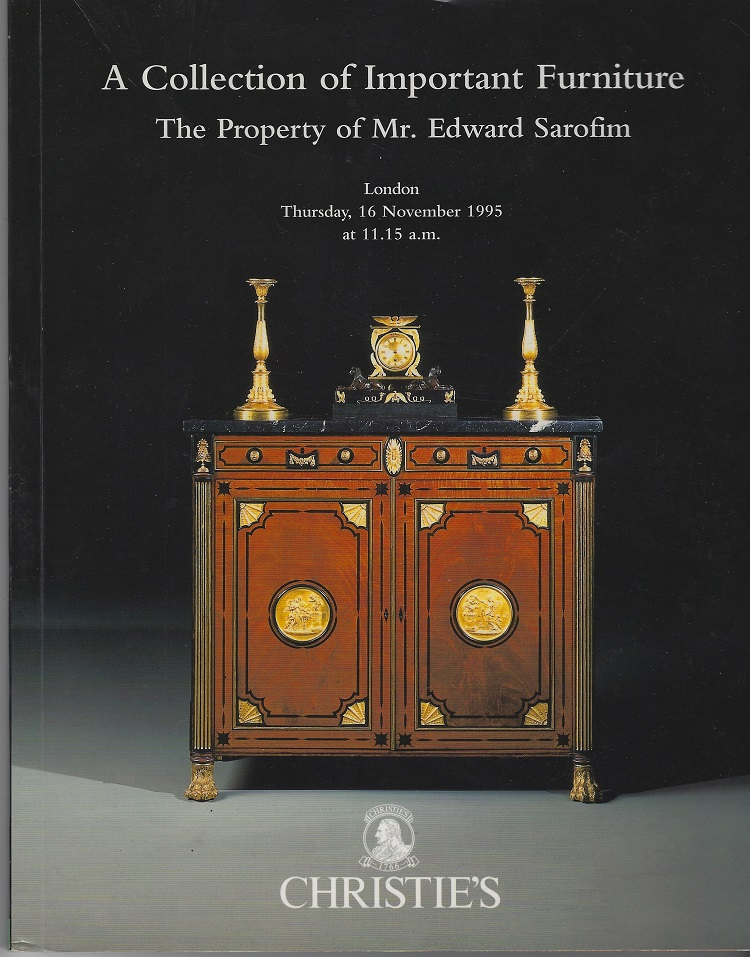 Image for Collection of Important Furniture, the Property of Mr. Edward  Serofim