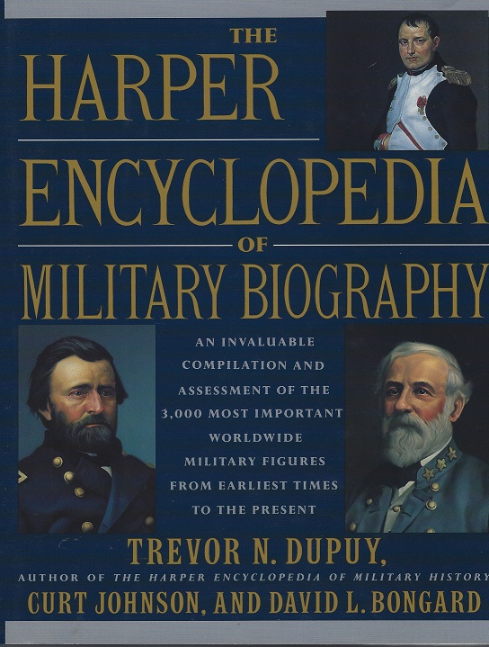 Image for The Harper Encyclopedia of Military Biography