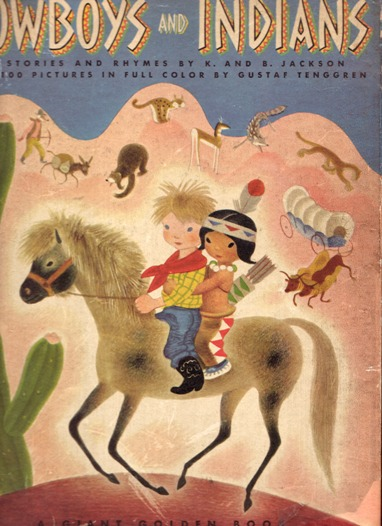 Image for Tenggren's Cowboys and Indians;  52 Stories and Rhymes