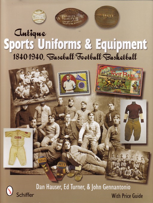 Image for Antique Sports Uniforms & Equipment 1840-1940, Baseball-Football-Basketball