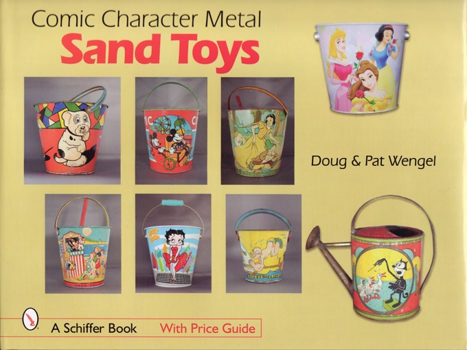 Image for Comic Character Metal Sand Toys