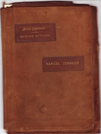Image for Little Journeys to the Homes of English Authors: Samuel Johnson