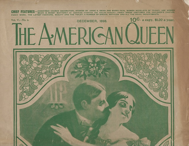 Image for The American Queen Magazine December 1898