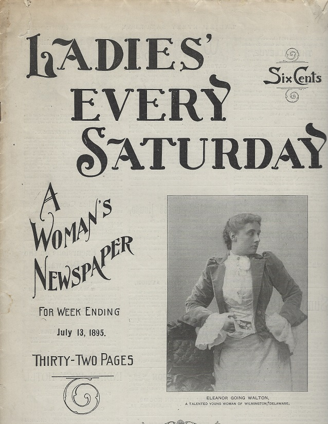 Image for Ladies' Every Saturday, For Week ending July 13, 1895