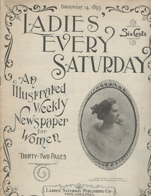Image for Ladies' Every Saturday, December 14, 1895: An Illustrated Weekly Newspaper for Women