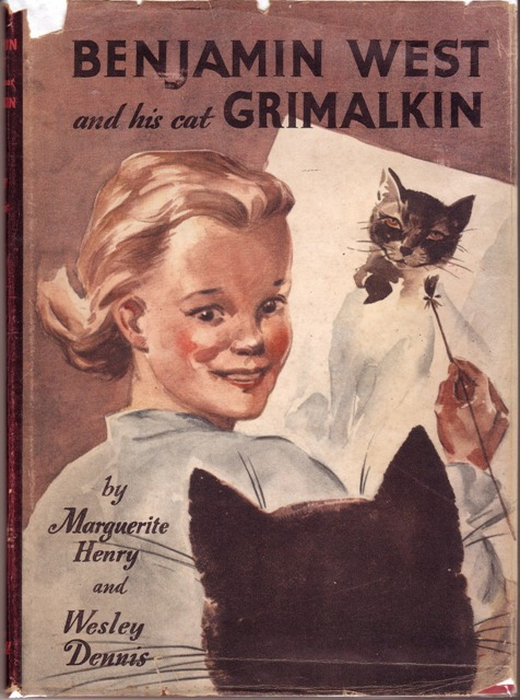 Image for Benjamin West and His Cat Grimalkin