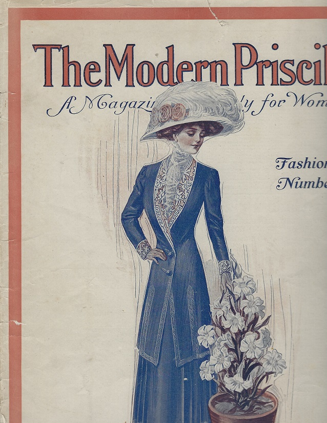 Image for The Modern Priscilla:  Fashion Number, March 1910