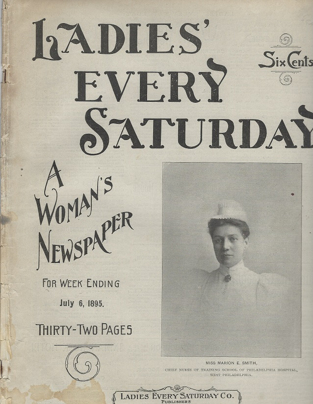 Image for Ladies' Every Saturday, July 6, 1895: An Illustrated Weekly Newspaper for Women