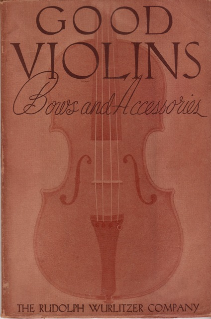 Image for Good Violins:  Bows and Accessories  Catalogue No. 1