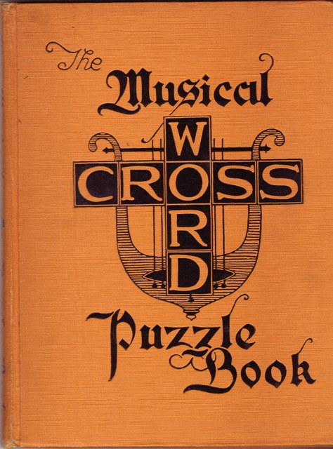 Image for The Musical Crossword Puzzle Book
