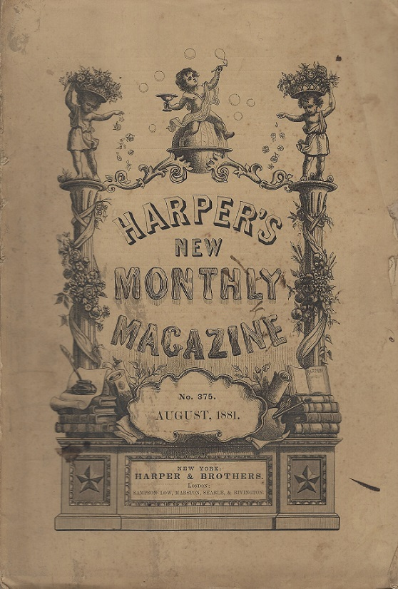 Image for Harper's New Monthly Magazine,  No. 376, August 1881