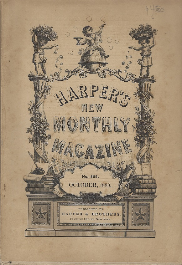 Image for Harper's New Monthly Magazine,  No. 365, October 1880