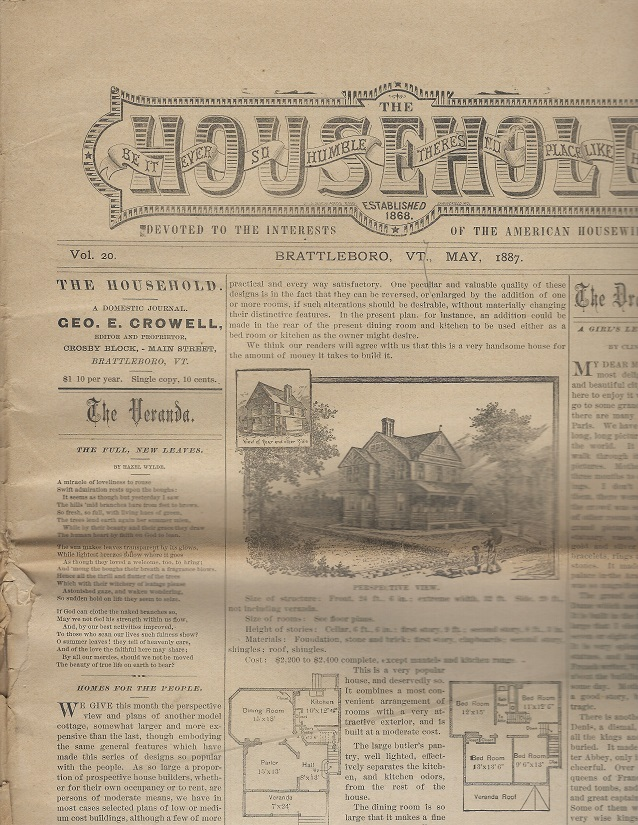 Image for The Household:  Devoted to the Interests of the American Housewife, May 1887