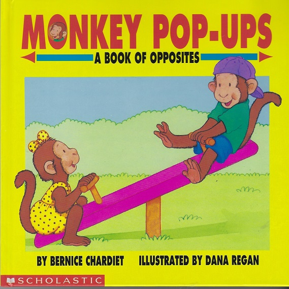 Image for Monkey Pop-Ups A Book of Opposites (Picture Books)