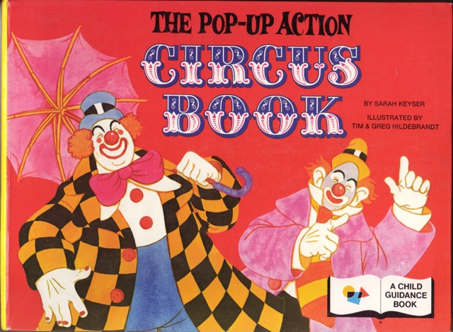 Image for The Pop-Up Action Circus Book