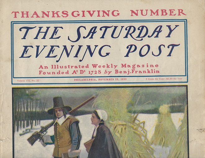Image for The Saturday Evening Post, Thanksgiving Number November 25, 1899