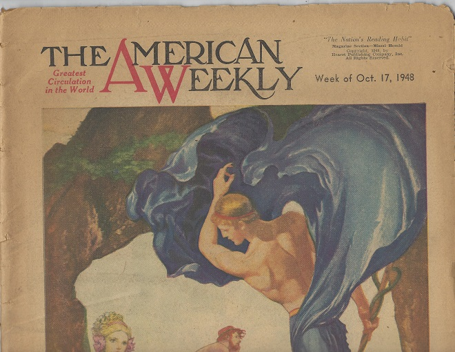 Image for The American Weekly, October 17, 1948