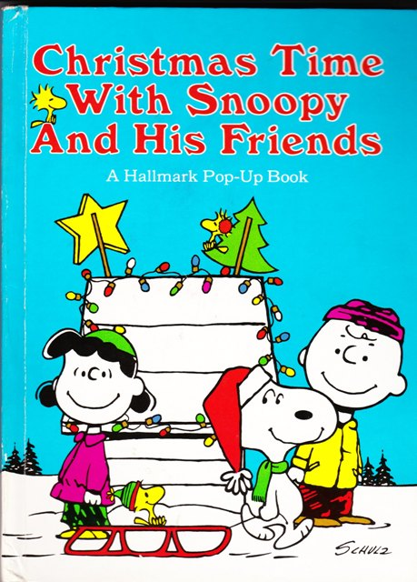 Image for Christmas Time With Snoopy and His Friends:  A Hallmark Pop-Up Book