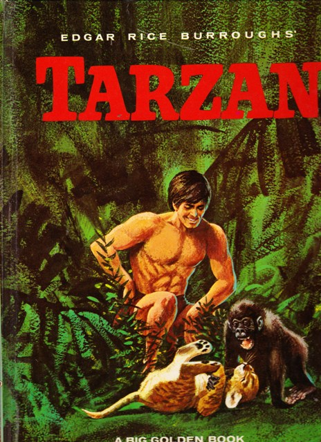 Image for Edgar Rice Burroughs' Tarzan:  A Big Golden Book