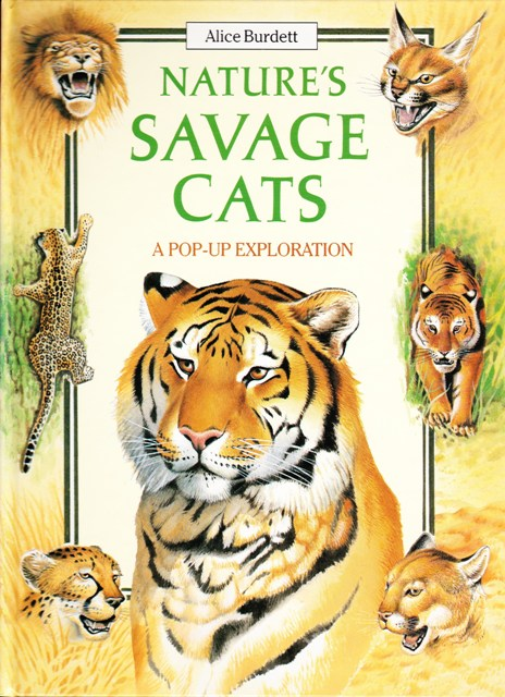 Image for Nature's Savage Cats (A Pop-Up Exploration)