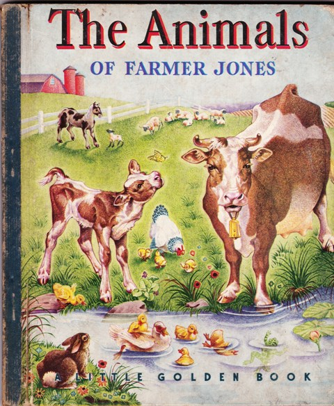 Image for The Animals of Farmer Jones, A Little Golden Book