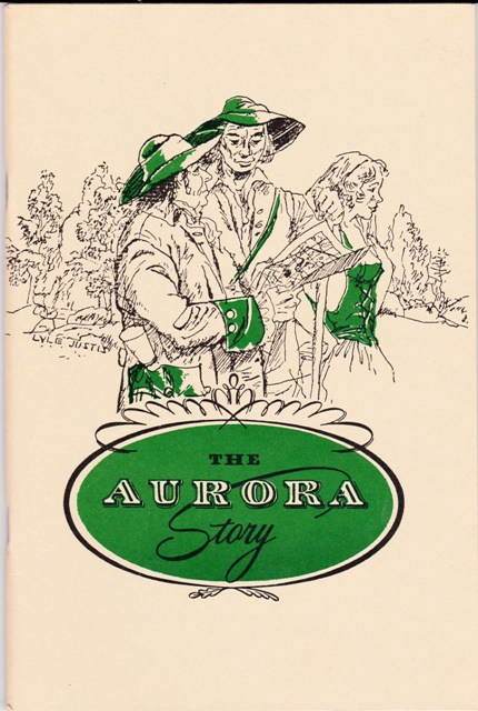 Image for The Aurora Story Sesquicentennial 1799-1949