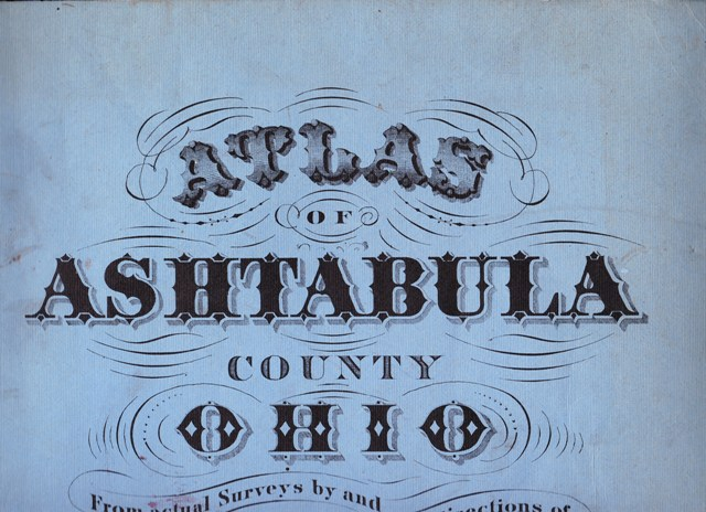 Image for Atlas of Ashtabula County Ohio