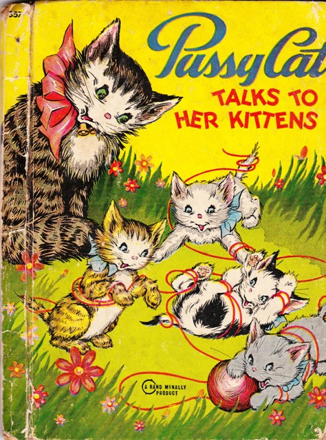 Image for Pussy Cat Talks to Her Kittens