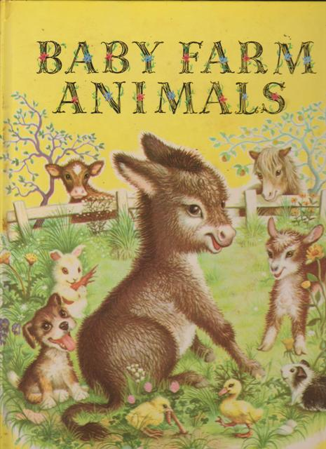 Image for Baby Farm Animals, A Big Golden Book