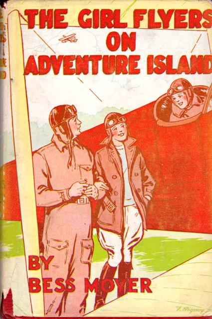 Image for The Girl Flyers on Adventure Island