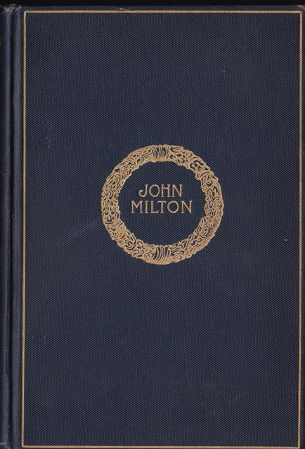 The Complete Poetical Works of John Milton, Cambridge Edition