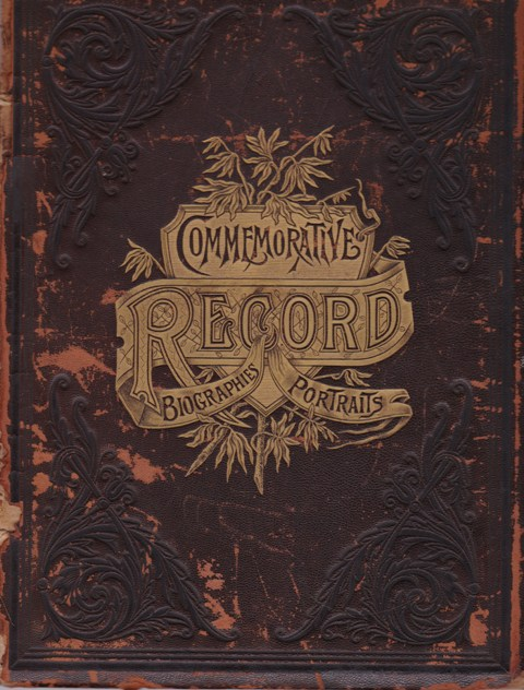 Image for Commemorative Biographical Record of the Counties of Harrison and Carroll, Ohio, containing Biographical Sketches of Prominent and Representative Citizens and of Many of the Early Settled Famiiesl
