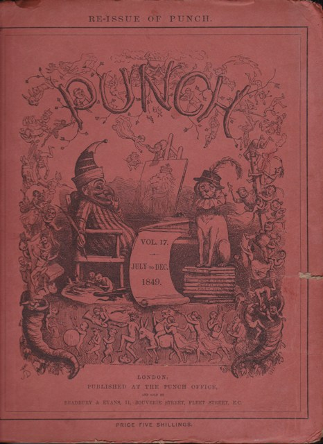 Image for Punch, or the London Charivari: Vol. XVII  July - December 1849