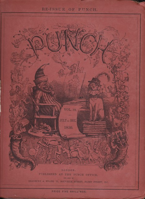 Image for Punch, or the London Charivari: Vol. XIX July - December 1850