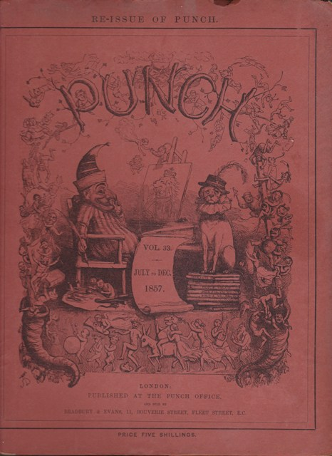 Image for Punch, or the London Charivari: Vol. XXX  July - December 1857