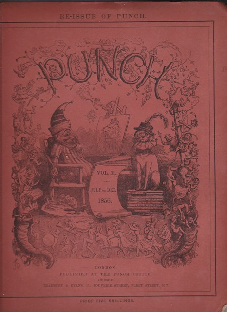 Image for Punch, or the London Charivari: Vol. XXXI  July - December  1856