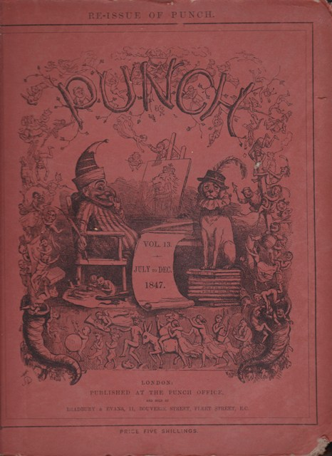 Image for Punch, or the London Charivari: Vol. XIII July - December 1847
