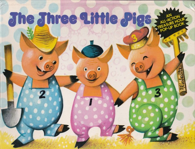 Image for The Three Little Pigs:  An All-Action Treasure Hour Pop-up Book
