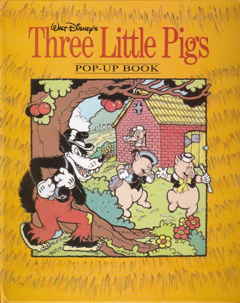 Image for Walt Disney's Three Little Pigs Pop-Up Book