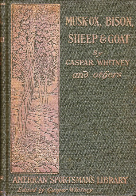 Image for Musk-Ox, Bison, Sheep and Goat:  American Sportsman's Library
